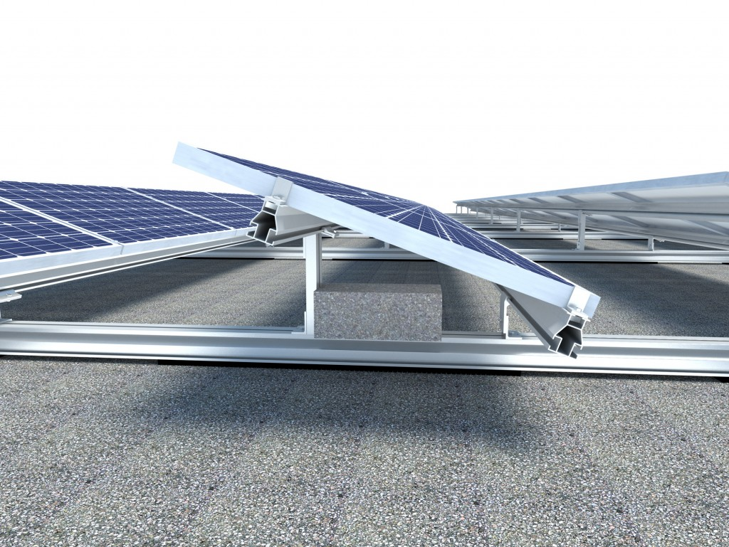 solar aluminyum konstruksiyon