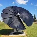 solar flower panel