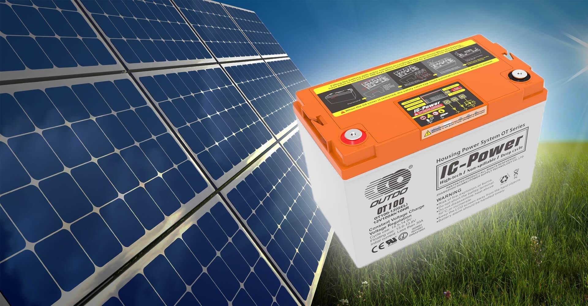 solar jel aku